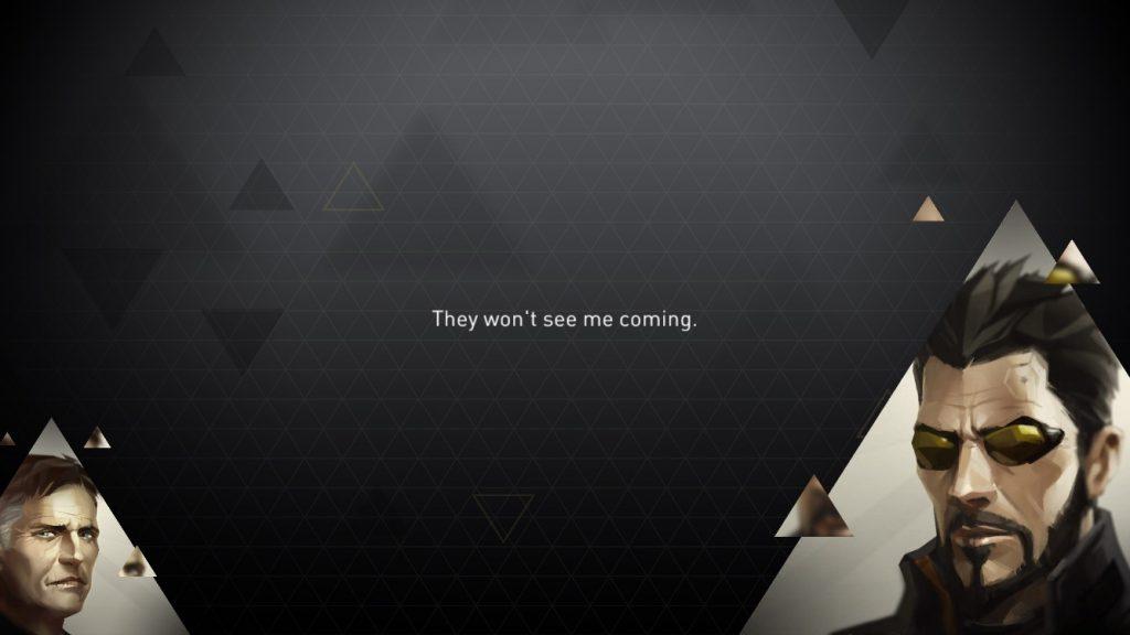 Deus Ex Go Cutscene