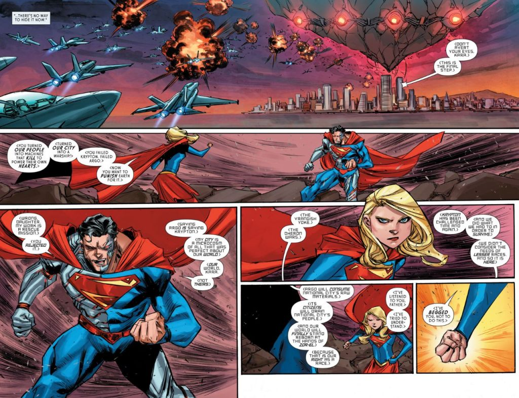 review  supergirl  6