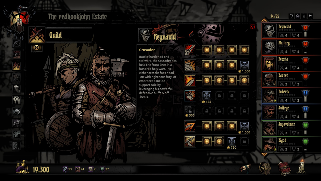 Darkest Dungeon Abilties