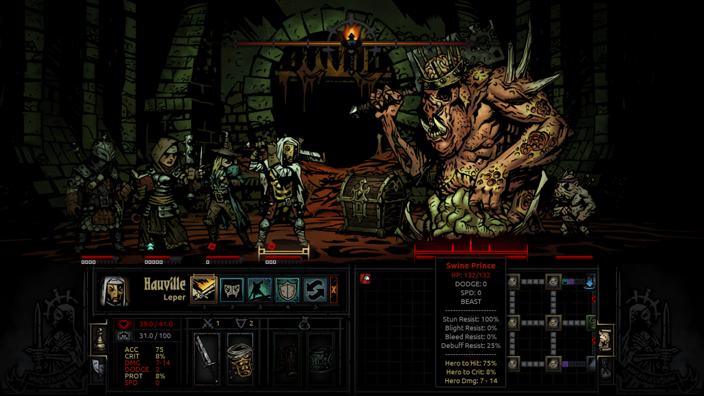 Darkest Dungeon Boss