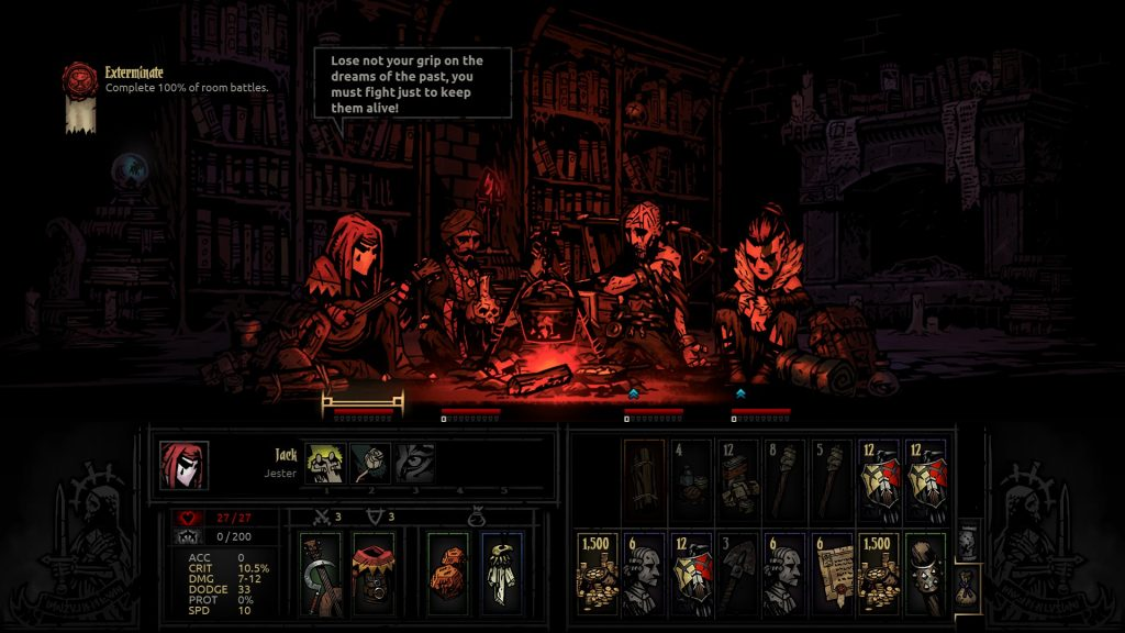 Darkest Dungeon Camping