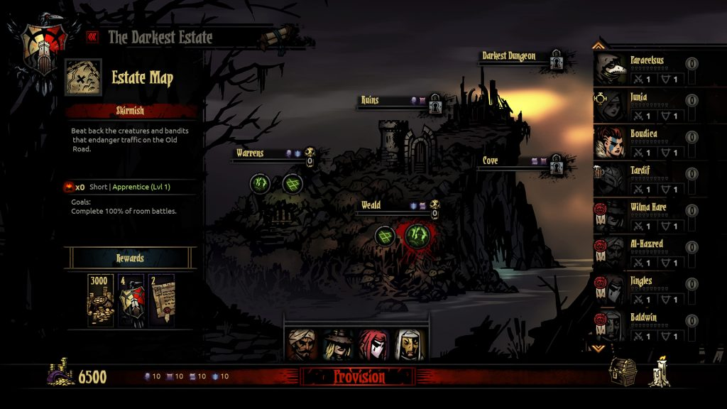 Darkest Dungeon Estate