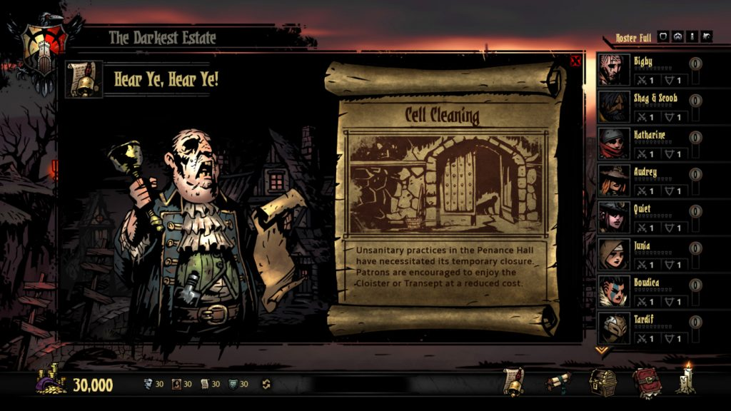 Darkest Dungeon Hamlet Events