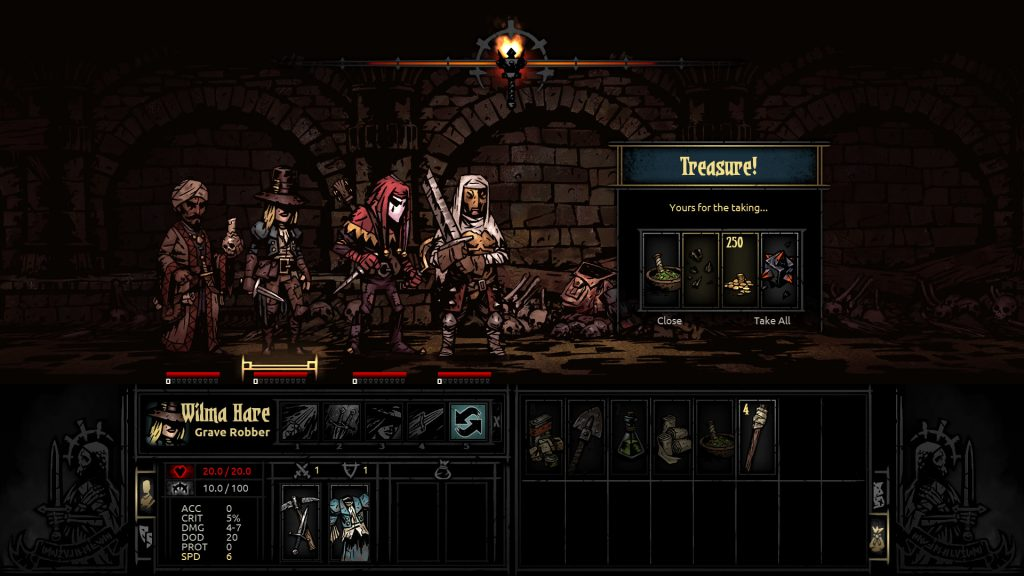 Darkest Dungeon Treasure