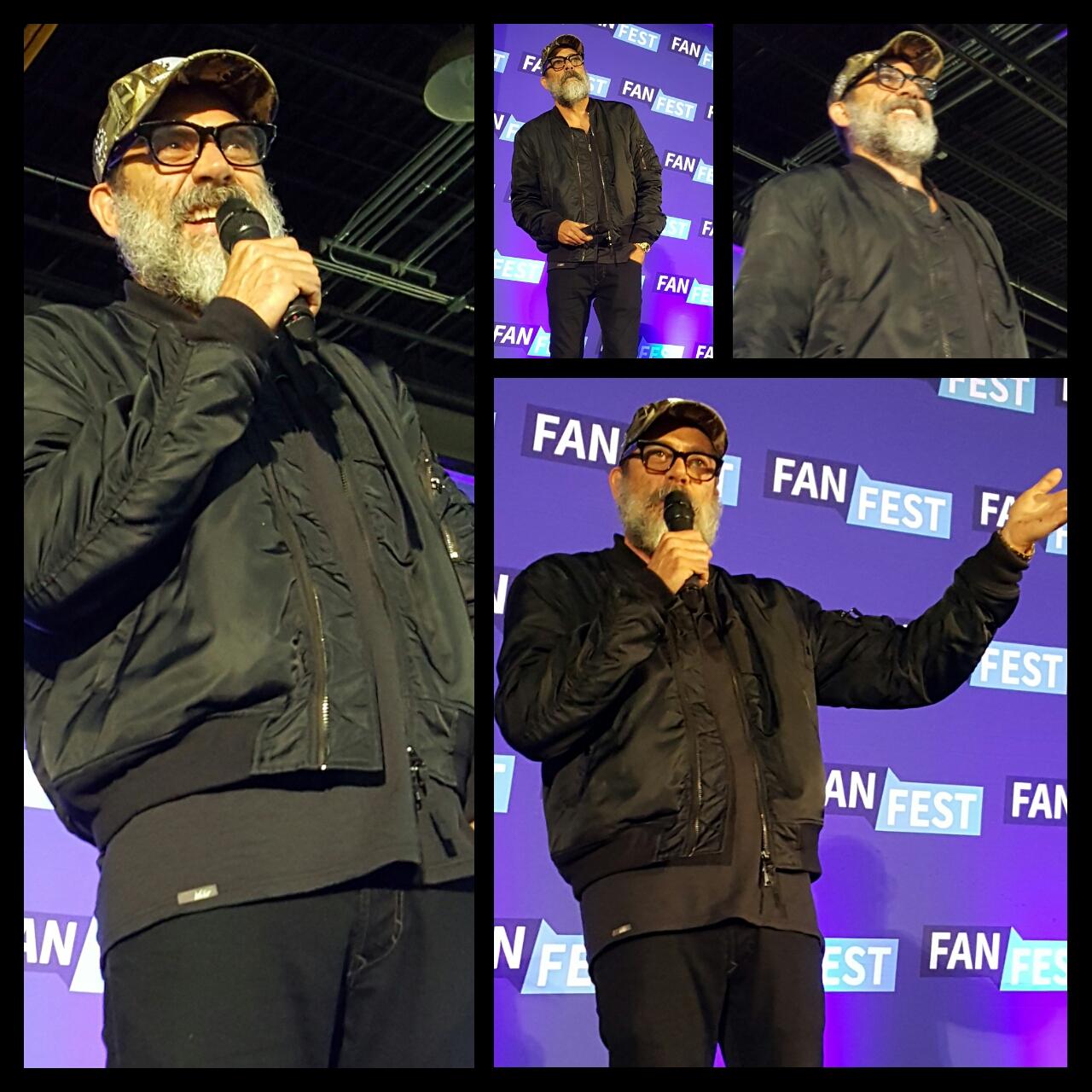 Fan Fest Chicago 2017, Jeffrey Dean Morgan, Negan, The Walking Dead
