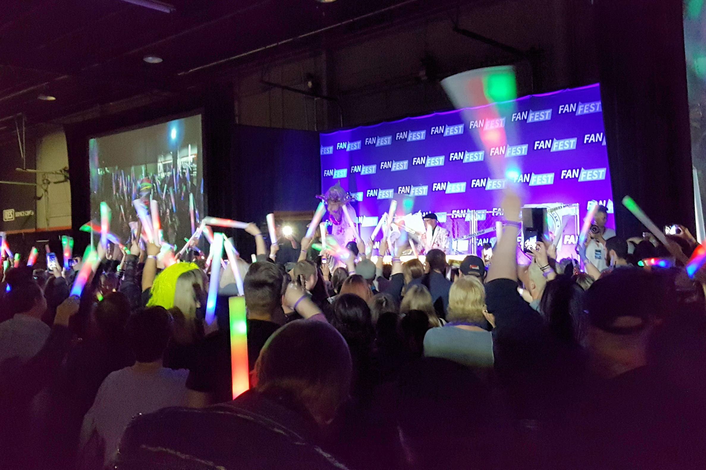 Fan Fest Chicago 2017, Zombie Party