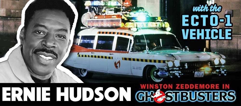 East Coast Comicon, Ernie Hudson, Winston Zeddemore, Hudson, Ghostbusters