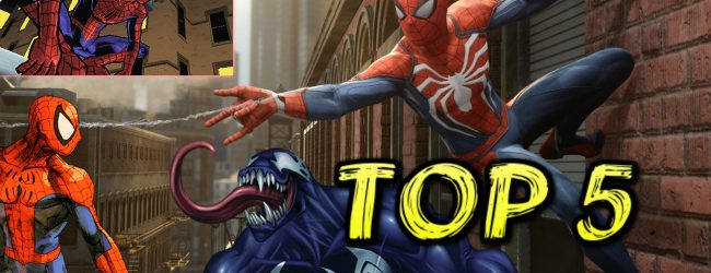 Ranking The Top 5 Spider-Man Games