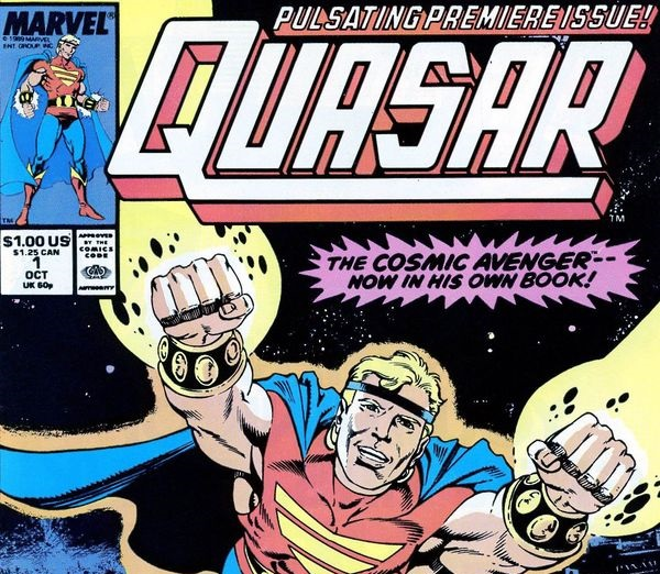 Quasar by Mark Gruenwald