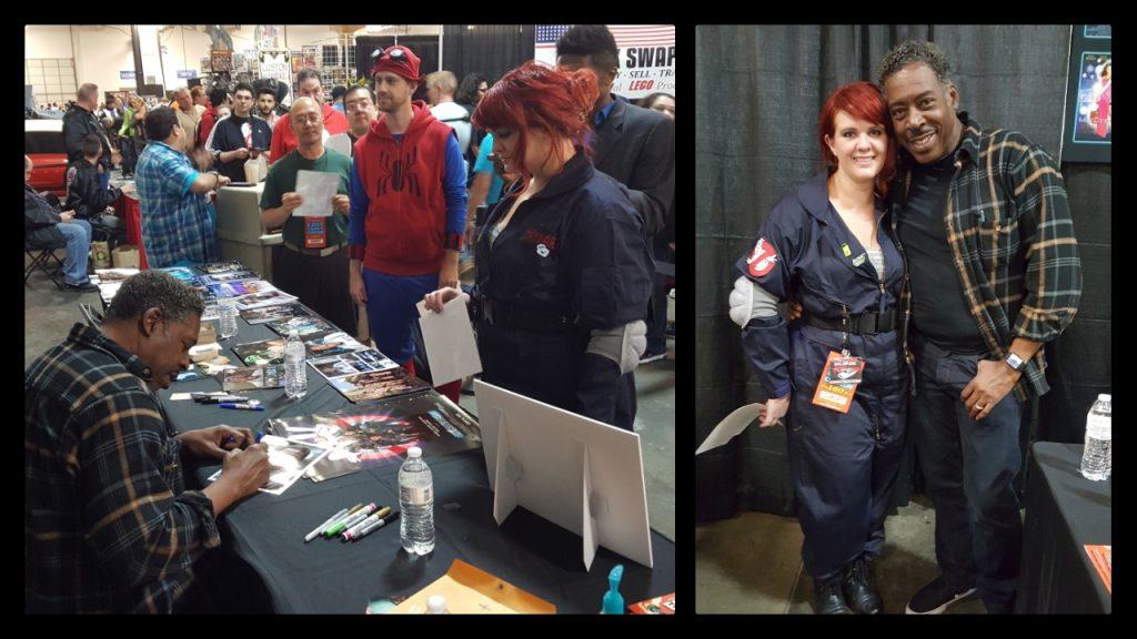 East Coast Comic Con, Ernie Hudson, Ghostbusters