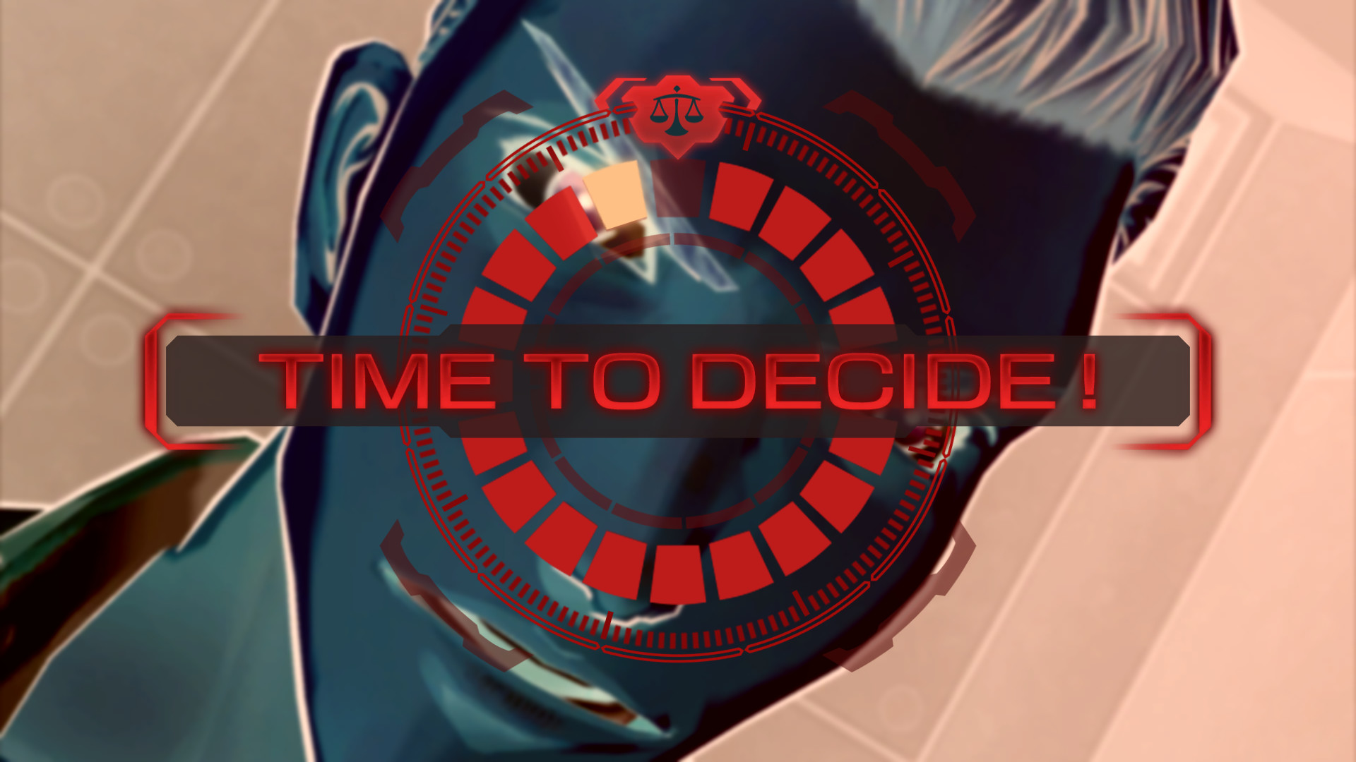 Decision time in Zero Time Dilemma