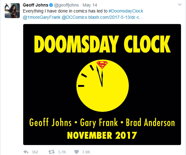 Doomsday Clock announcement