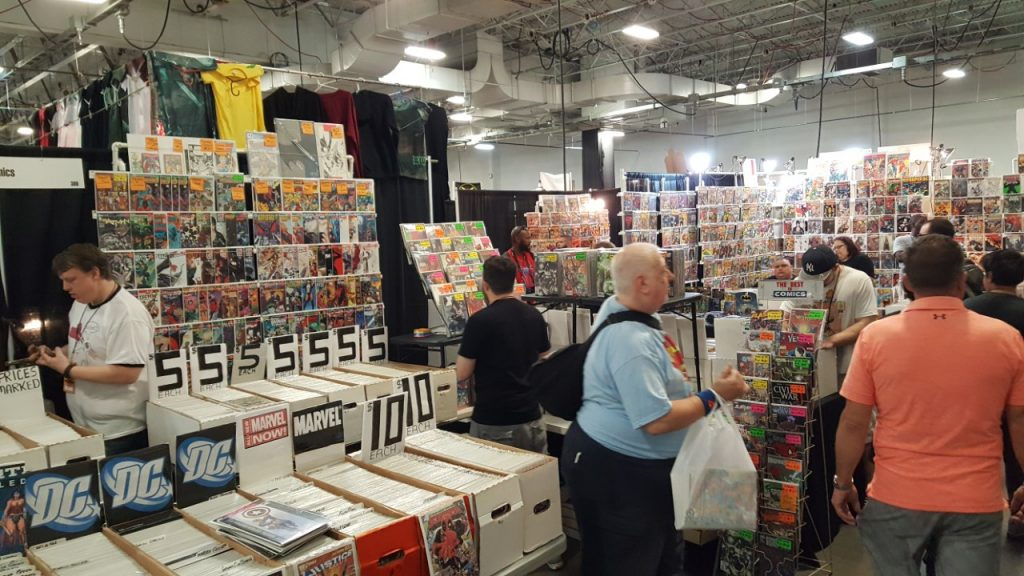 East Coast Comic Con, Comics