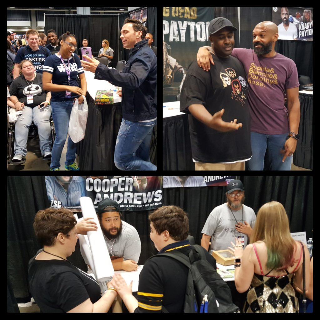 Awesome Con, Jason David Frank, Khary Payton, Cooper Andrews