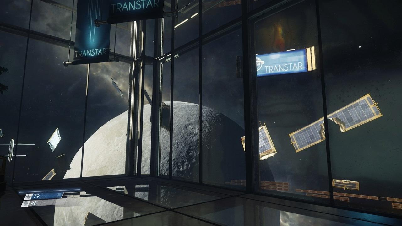 Prey Lobby Space View