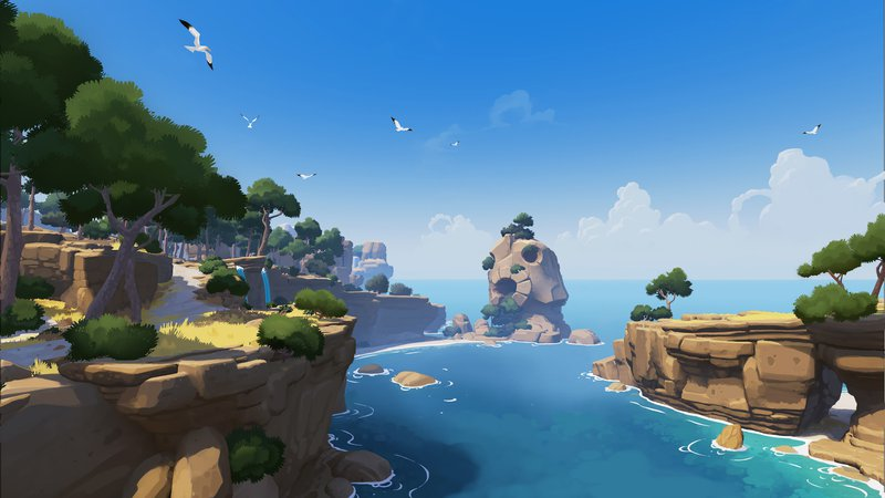 Rime first island