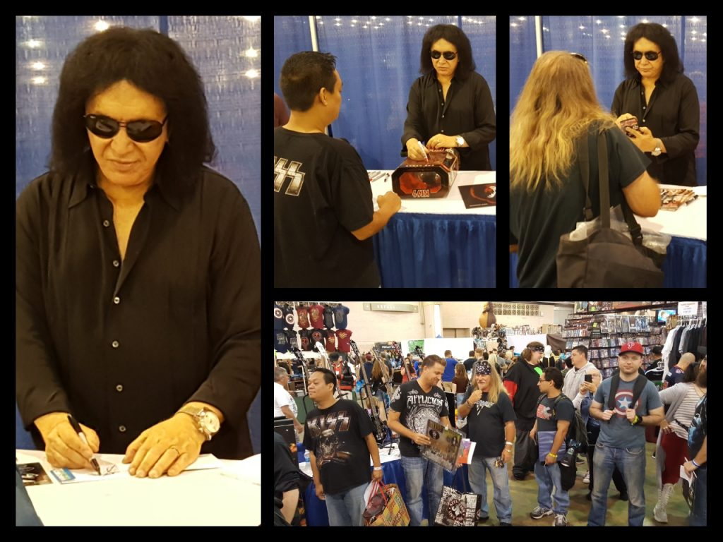 Wizard World Philadelphia,Gene Simmons, Kiss