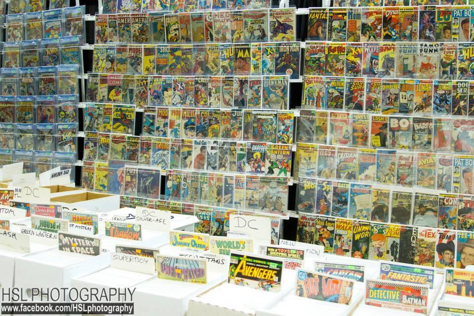 Garden State Comic Fest, Comic Books