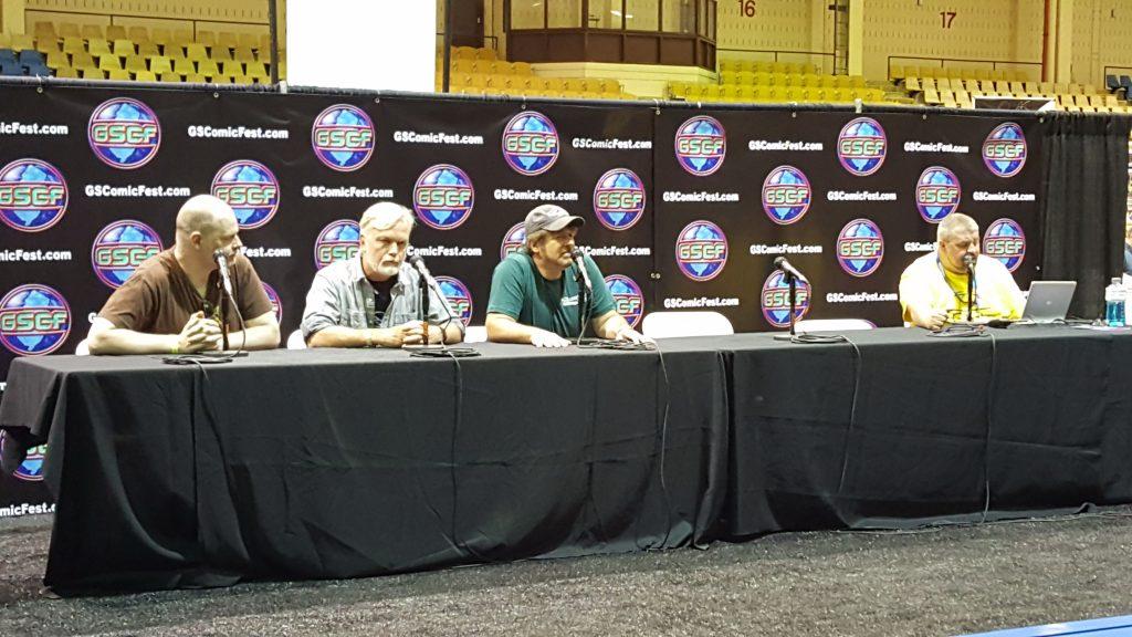 Garden State Comic Fest, Panel