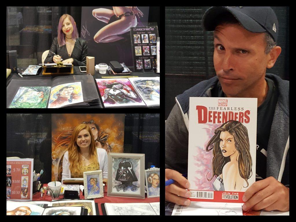 Garden State Comic Fest, Bella Rachlin, Emma Kubert, Chris Campana