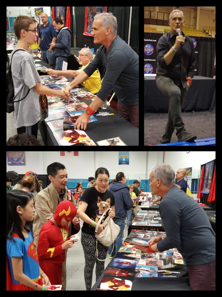 Garden State Comic Fest, The Flash, John Wesley Shipp