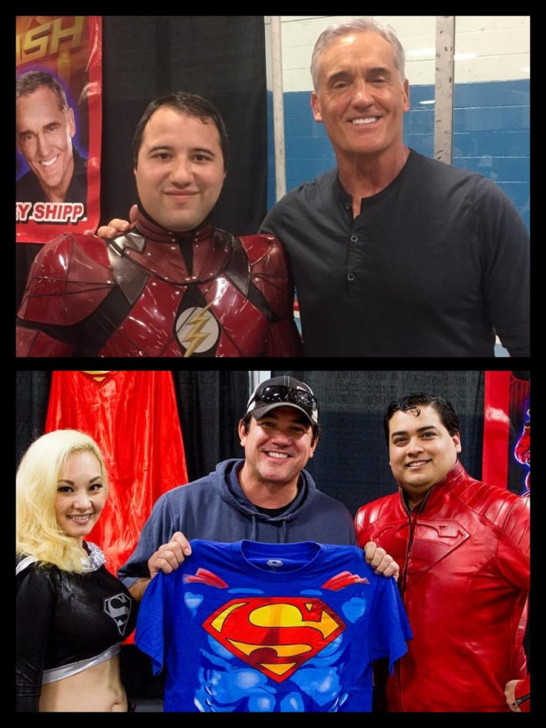 Garden State Comic Fest, The Flash, John Wesley Shipp, Superman, Dean Cain