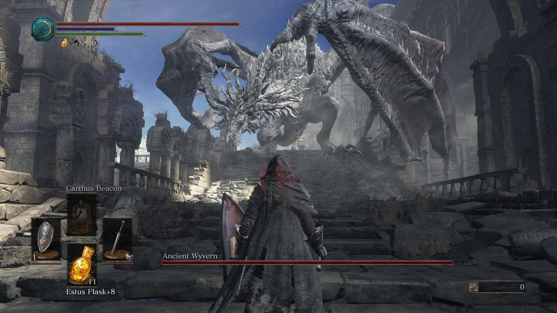 Dark Souls 3 Boss Ancient Wyvern