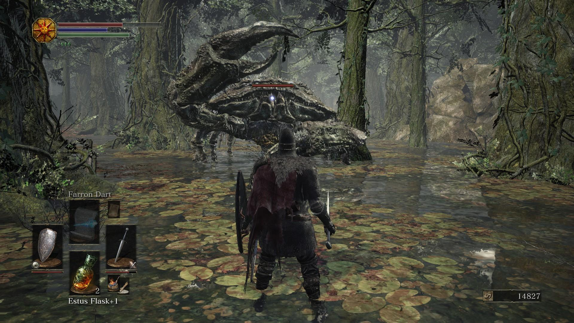 Dark Souls 3 Forest Swamp Crab