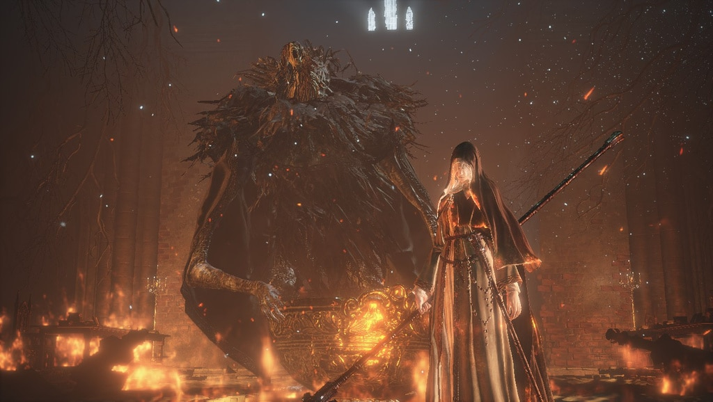 Dark Souls 3 Ashes of Ariandel Final Boss Sister Friede
