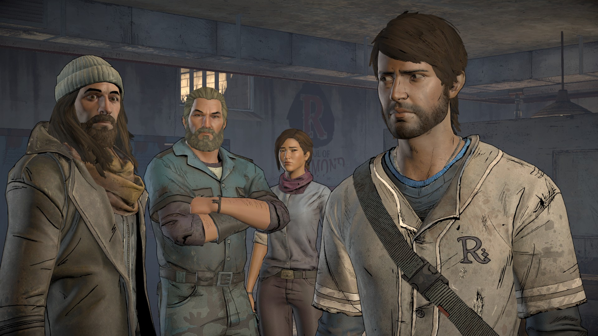 Walking Dead A New Frontier Player Team