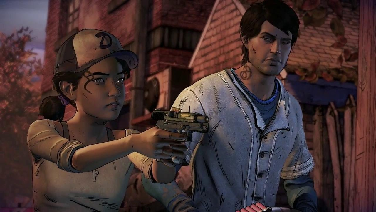 Walking Dead A New Frontier Javier and Clementine