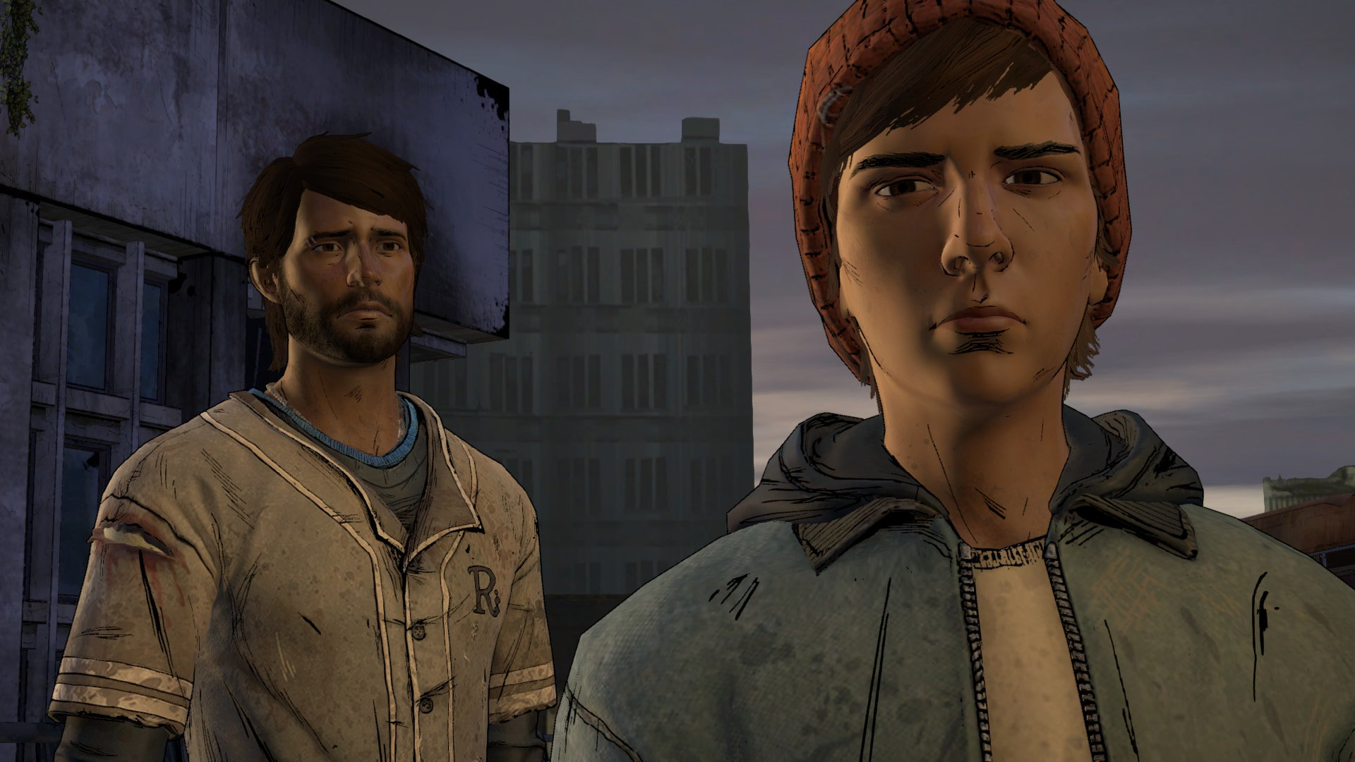 Walking Dead A New Frontier Javier and Gabe