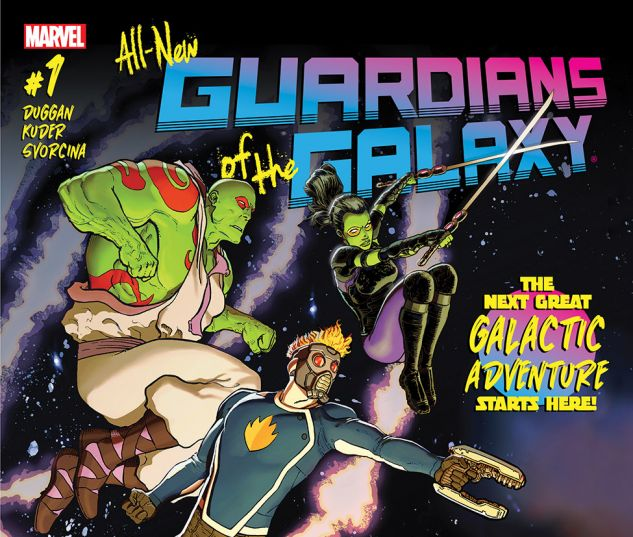 Review: All-New Guardians of the Galaxy #1-6 - ComiConverse
