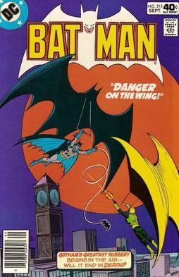 Kite Man first appeared in Batman vol. 1 #133 (August 1960), and was created by Bill Finger, Chris Russell and Dick Sprang. Courtesy of DC Comics