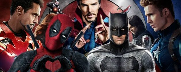 Comic Book Films: The Best by Year