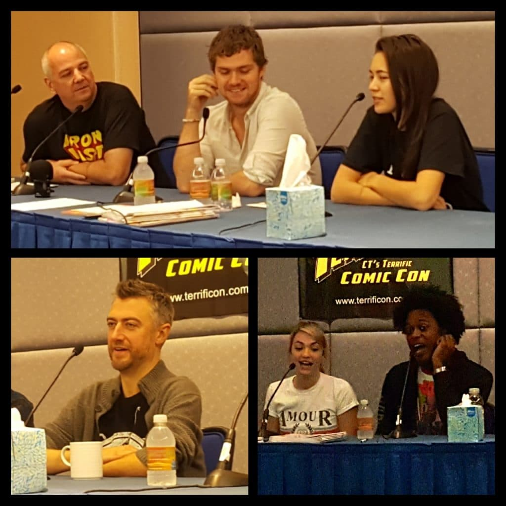 TerrificCon, Iron Fist, Defenders, Finn Jones, Guardians of the Galaxy, Sean Gunn,The Flash, Echo Kellum