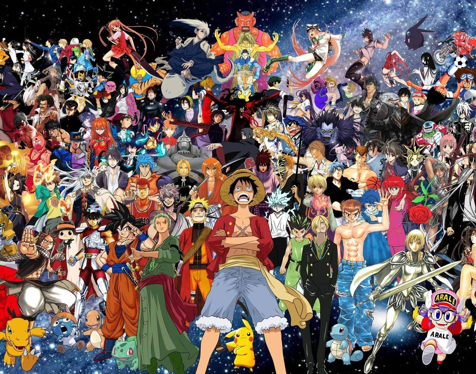 the official top 100 anime of all time according to the internet