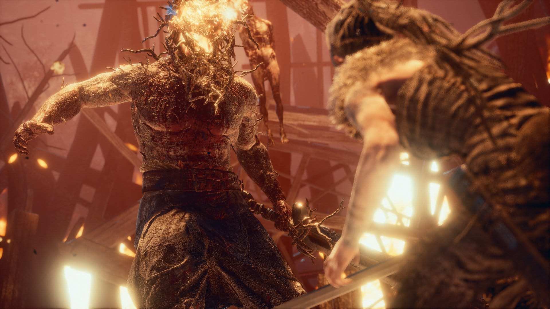 Hellblade Boss Battle