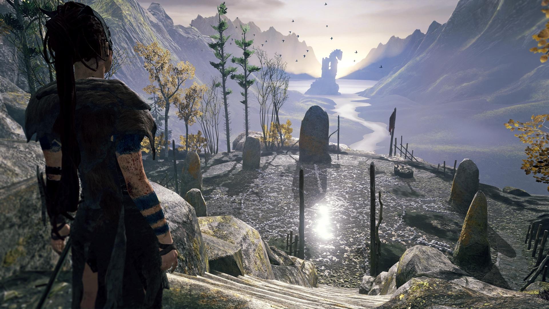 Hellblade Landscape Graphics