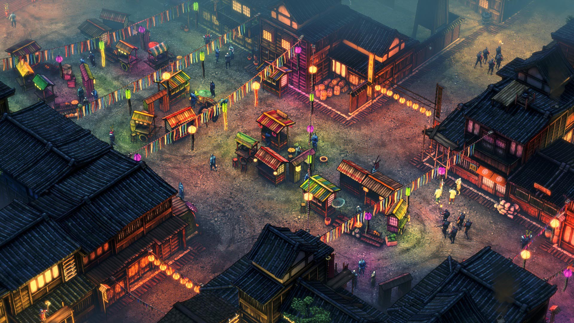 Shadow Tactics Night Market