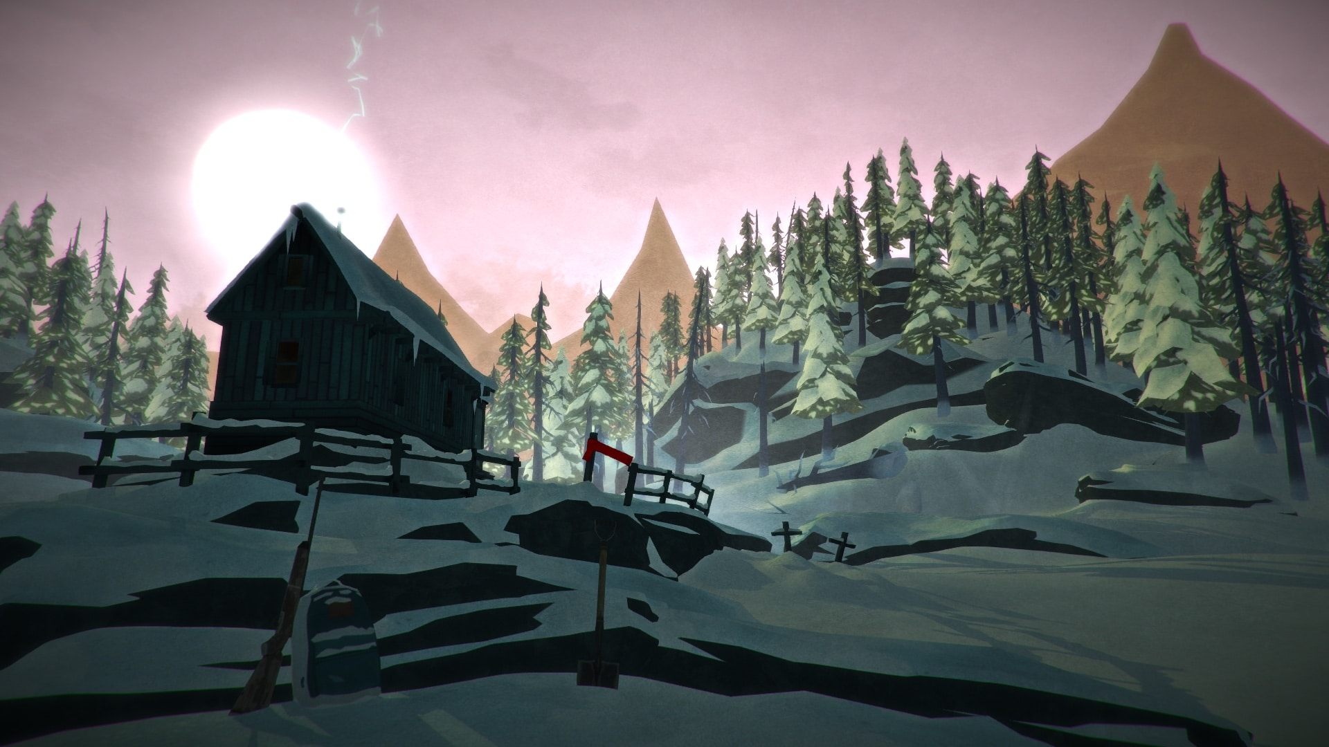 The Long Dark Hunters Hut