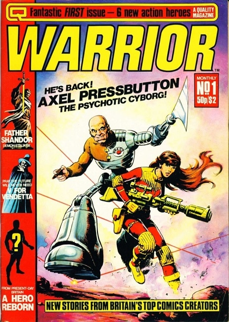 Issue 1 Cover for Warrior