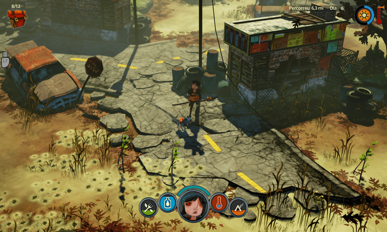 The Flame in the Flood Town Exploration