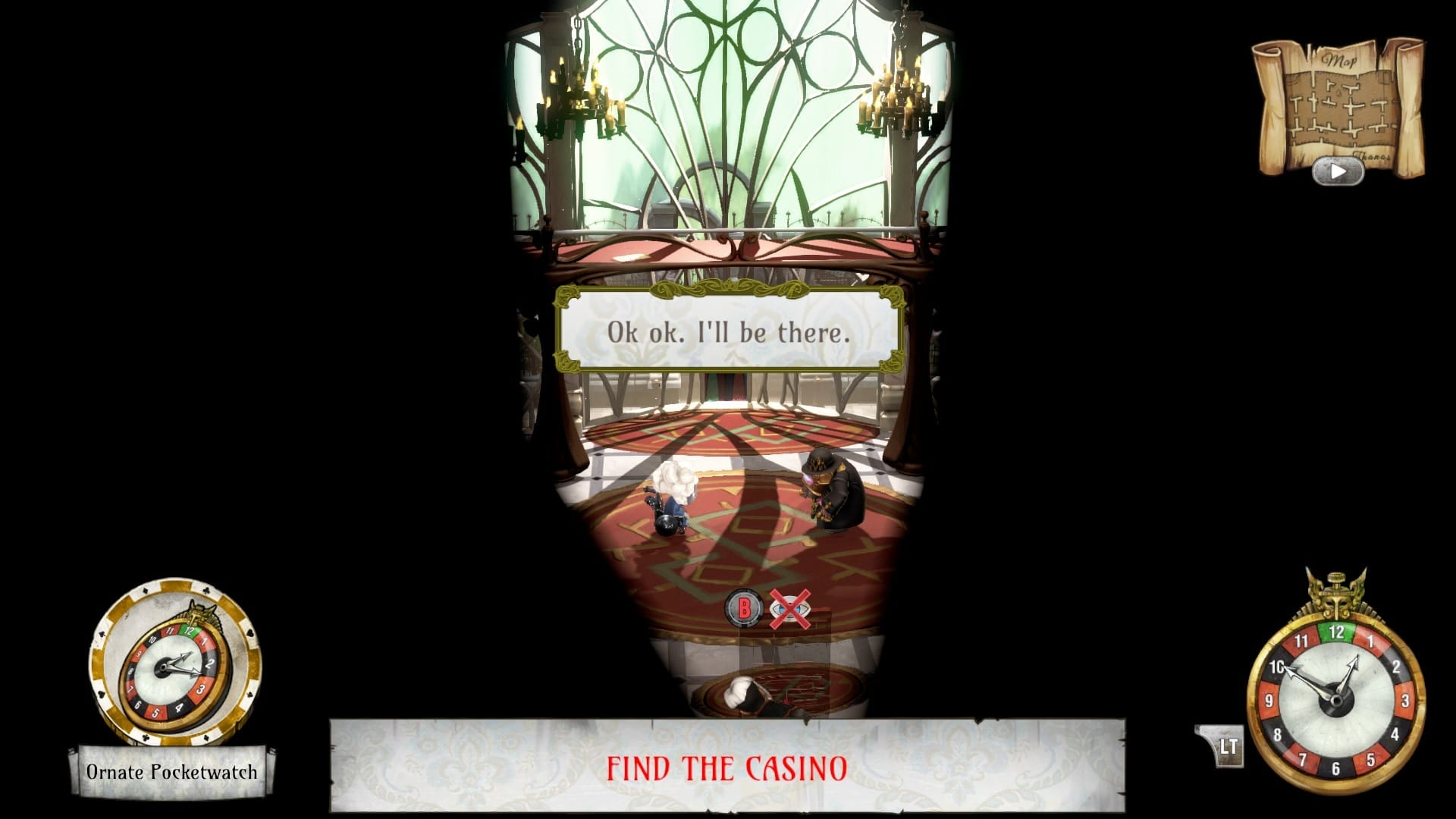 The Sexy Brutale Spying on Ballroom