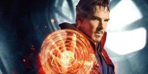 Doctor Stephen Strange using his sorcery