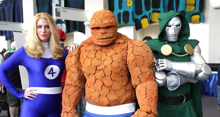 Rhode Island Comic Con, Fantastic Four, Cosplay