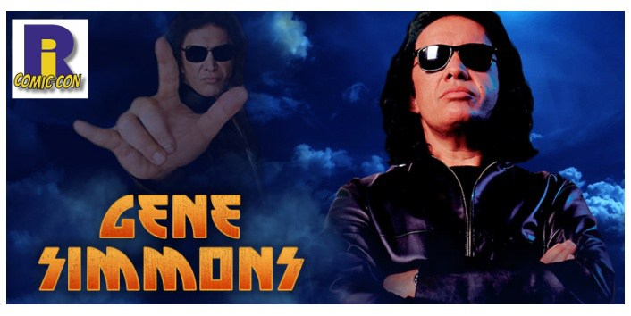 Rhode Island Comic Con, Gene Simmons