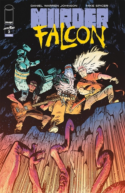 Murder Falcon #2 Cover published by Image Comics
